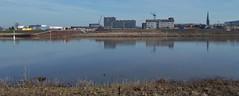 DSCN3191 (Uno100) Tags: zutphen ijssel noorder haven river holland 2019 stroom windmolens wind mill v 1 building war grass water