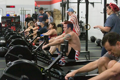 Row Row Row Your Boat (dmoranphotog) Tags: crossfit crossfitgames open191 wod rowers rowing odcforyourhealth crossfitkilter fridaynightlights
