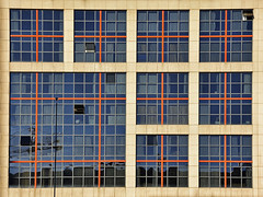 Hotel Exe Plaza (RobertLx) Tags: window facade hotel chamartin madrid city architecture glass building contemporary grid spain españa geometric exeplaza plazadecastilla castilla travel exeplazamadrid