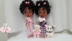 Gêmeas (Boutique de menina) Tags: blythe bjds bonecasarticuláveis brasil bonecas baby bonecosdecoleção boneca shoes stock pullip pureneemo pn p