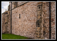 North Wall Detail (veggiesosage) Tags: grade1listed gx20 eastleake nottinghamshire aficionados church historicchurch normanchurch