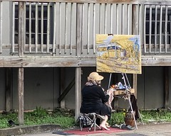 Plein Air Painter, Nashville 3/14/19 (Sharon Mollerus) Tags: cfptig19