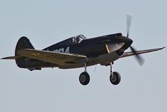 Curtiss P-40B Warhawk (alex kerr photography) Tags: duxford curtissp40bwarhawk fighter flyinglegends usarmy 284 airshow