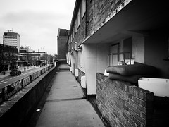 High Street, Brentford (dominicirons) Tags: brentford westlondon redevelopment highstreet blackwhite blackandwhite