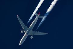 Turkish Airlines Airbus A330-303 TC-JOK (Thames Air) Tags: turkish airlines airbus a330303 tcjok contrails contrailspotting