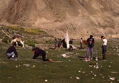 Trekkers (Paolo Levi) Tags: trekking trekker zingchen rumbak ladakh india canon ftb fd 50mm ilfochrome
