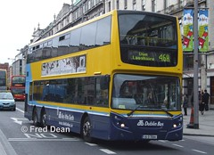 Dublin Bus VT14 (05D70014). (Fred Dean Jnr) Tags: dublinbusyellowbluelivery busathacliath triaxle dublinbusroute46a dublin dublinbus dbrook volvo b9tl alexander dennis enviro 500 oconnellstreetdublin vt14 05d70014 june2008