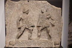 Gladiatrices Amazon and Achillia (LJMcK) Tags: roman greek asiaminor gladiatrix nma nationalmuseumofaustralia britishmuseum classical