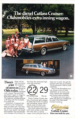 1979 Oldsmobile Cutlass Cruiser 4 Door Wagon USA Original Magazine Advertisement (Darren Marlow) Tags: 1 7 9 19 79 1979 olds oldsmobile c cutlass cruiser w wagon car cool collectible collectors classic a automobile v vehicle g m gm general motors u s us usa american america 70s