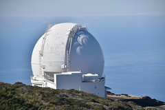 Domes and Clouds (PLawston) Tags: spain canary islands la palma roque de los muchachos parque nacional caldera taburiente telescope astronomy observatory dome