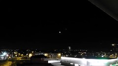 Moon and Sunrise jan 2019 (Amberinsea Photography) Tags: timelapse moorise sunrise sky stars moon sun landscapephotography landscape naturephotography nature horizon amberinseaphotography halmstad sweden