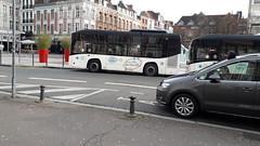 BredaMenarinibus Vivacity+ GNV n°4005 à Rihour (alexandrebertrand60) Tags: breda bredamenarinibus vivacity gnv 4005 transpole lille rihour navette vieux nvl bus