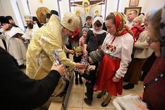 41. Рождественский молебен в Никольском 08.01.2019