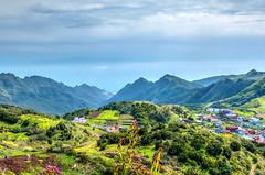 Parque Rural de Anaga (etoma/emiliogmiguez) Tags: tenerife islascanarias anaga parque rural lasmercedes montañas nubes océano caserío