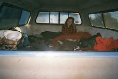 Good Morning Sunshine (Brogan's Camera) Tags: desert road trip truck classic camping wilderness wild natural nature morning camper bed woman