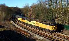 Double Headed Grids At Hall Royd Junction. (Neil Harvey 156) Tags: railway 56094 56113 hallroydjunction todmorden caldervalley copypitline prestondockstanks prestontanks bitumentanks 6e32 class56 colasrail colas grid doubleheaded