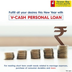 V-Cash personal loan (Vijaya Bank) Tags: vcash personal loan vijaya bank india best top interest rate