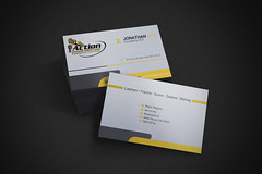 Business Card (basher7070) Tags: approved black blue business businesscard call card clean corporate creative design green horizontal individual modern name orange personal professional psd qrcode red sleek style stylish template unique verazo visit white