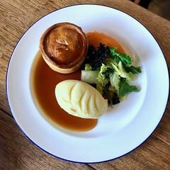 M is for Mash 44*365 (♔ Georgie R) Tags: steakpie mashedpotato greens pub theblackjug horsham sussex