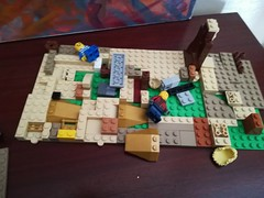 Work in progress... 😎😊👴 (daveandlyn1) Tags: bricks lego legofigures colouredbricks closeup smartphone psdigitalcamera cameraphone pralx1 p8lite2017 huawei