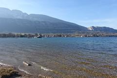 Plage du Bout du Lac @ Doussard @ Walk in Sources du Lac d'Annecy (*_*) Tags: february afternoon 2019 hiver winter savoie sourcesdulacdannecy walk randonnée nature hiking mountain marche europe france hautesavoie 74 annecy doussard