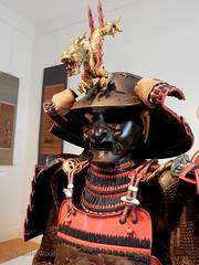 Carcassonne - Musée des Beaux-Arts (Fontaines de Rome) Tags: aude carcassonne musée beaux arts exposition samouraï art symbolisme japon armure casque dragon masque cuirasse japan samurai 日本 美術 侍 象徴主義