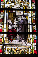 Stained glass Dutch Old Master (quinet) Tags: 2017 amsterdam antik glasmalerei netherlands rijksmuseum ancien antique museum musée stainedglass vitrail