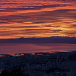 Genova Sunset: view from the Righi Panorama thumbnail