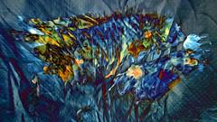 (K)AnalArt_45 Textilwunde (wos---art) Tags: bildschichten kanal art three communication kommunikation flowers blumen tulpen rosen farbkomposition sakrale räume
