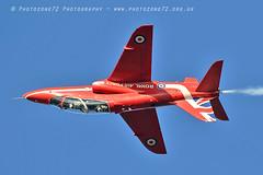 9806 Red 6 XX244 (photozone72) Tags: raf rafat redarrows reds redwhiteblue aviation aircraft hawk synchro lincolnshire scampton canon canon7dmk2 canon100400f4556lii 7dmk2
