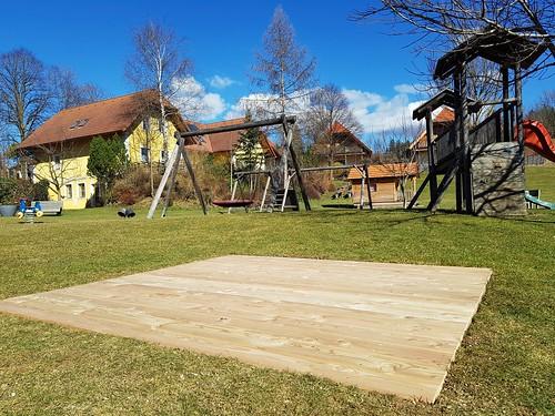 Erneuerungen mit Lärchenholz