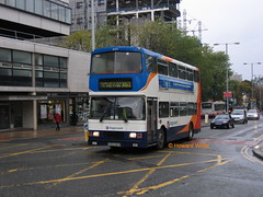 Ribble 16355 (N355 MPN) (SelmerOrSelnec) Tags: ribble stagecoach volvo olympian alexander n355mpn manchester bridgestreet x61 eastkent bus