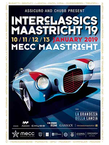 We invite you to visit our stand at Interclassics Maastricht 2019. The first classic car meeting in the new year.