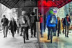 biker in the multiverse (-liyen-) Tags: aaw activeassignmentweekly biker city urban selectivecolouring reflection people walking sidewalk street fujixt2 bestofweek1 bestofweek2 bestofweek3 bestofweek4 bestofweek5 bestofweek6
