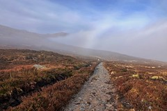 Fog Bow (Deepgreen2009) Tags: fogbow phenomenon weather rannochmoor scottish highlands path walk