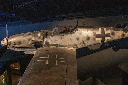 Messerschmitt, BF, 109G-6, AU War Memorial, Canberra