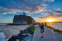 Nobby Beach Sunset (Corey Hamilton) Tags: d850 hdr newcastle nobbybeach sunset travel newsouthwales australia au