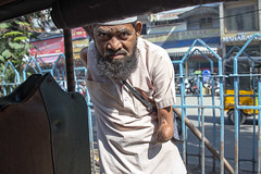 INDIA8965- Begging 101 (Glenn Losack, M.D.) Tags: india varanasi photographer kolkata mathura hinduism islam muslim jamamasjid glennlosack streetphotographer streetphotography olddelhi delhi mumbai beggars begging leprosy hansensdisease hansens photojournalism photojournalist vindravan ganges poor poverty hunger invisible mosques temples jagganath mysore madurai albinism albino vitiligo