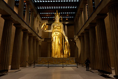 Athena inside the Parthenon (John Chulick) Tags: variosonnartdt35451680 athena scuplture gold nike nashville tennessee parthenon