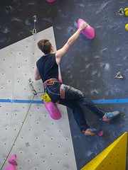 March 16, 2019 Difficulty Comp - Elevation Place, Canmore, Alberta (brianolstad) Tags: trailheadclimbingfitness canmore albertaclimbingassociation reddeer competition youthbmale gabe brian olstad