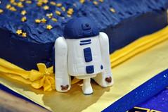 Cub Scouts Blue & Gold Ceremony Star Wars Cake 11 (rikkitikitavi) Tags: custom cake dessert vanilla chocolate buttercream fondant handsculpted handmade starwars r2d2 yoda stormtrooper chewbaca bb8 cubscout blueandgoldceremony bluegoldbanquet
