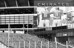 Steps to the Emirates (Scotty H..) Tags: arsenalfc bw bergkamp emiratesstadium england highbury holloway london northlondon uk wilson architecture blackwhite blackandwhite monochrome steps urban