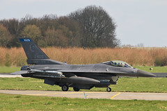 F-16C 91-0409 USAF (Jarco Hage) Tags: leeuwarden the netherlands air force rnlaf ehlw byjarcohage aviation mil militair militaire airplane aircraft base jet fighter fighters jets exercise frisian flag 2019 f16c 910409 usaf