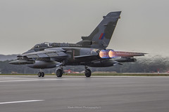RAF Tornado GR.4 ZG752 Last Takeoff (Mark_Aviation) Tags: raf tornado gr4 zg752 final landing gr4t royal air force marham camo scheme paint special last flight farewell farewelltornado pa200 panavia aircraft military jet afterburner fast loud