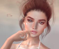 978-zoe (lindalindalein mayo) Tags: collabor88 euphoric glamaffair kinkyevent lelutka sintiklia sl second life new blog portrait woman face head linda digital art bento mesh le lutka