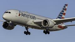 N801AC_LAS_Landing_26L (MAB757200) Tags: americanairlines b7878 n801ac aircraft airplane airlines airport jetliner landing las klas boeing mccarran runway26l
