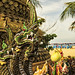 Naga Statue detail, Karon , Thailand