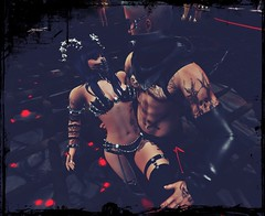 perfect (kay_1806) Tags: love dark demon dance gothic goth fantasy fire schwarz unheilig intimacy image couple animations horns eyes together tattoo tail maitreya sexy secondlife signature skin catwa