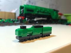 Update (Britishbricks) Tags: 2007 wip princeofwales p2 engine steam lner lego