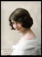 Unity More 1894 -1981 (oneredsf1) Tags: actress irish colorized more unity